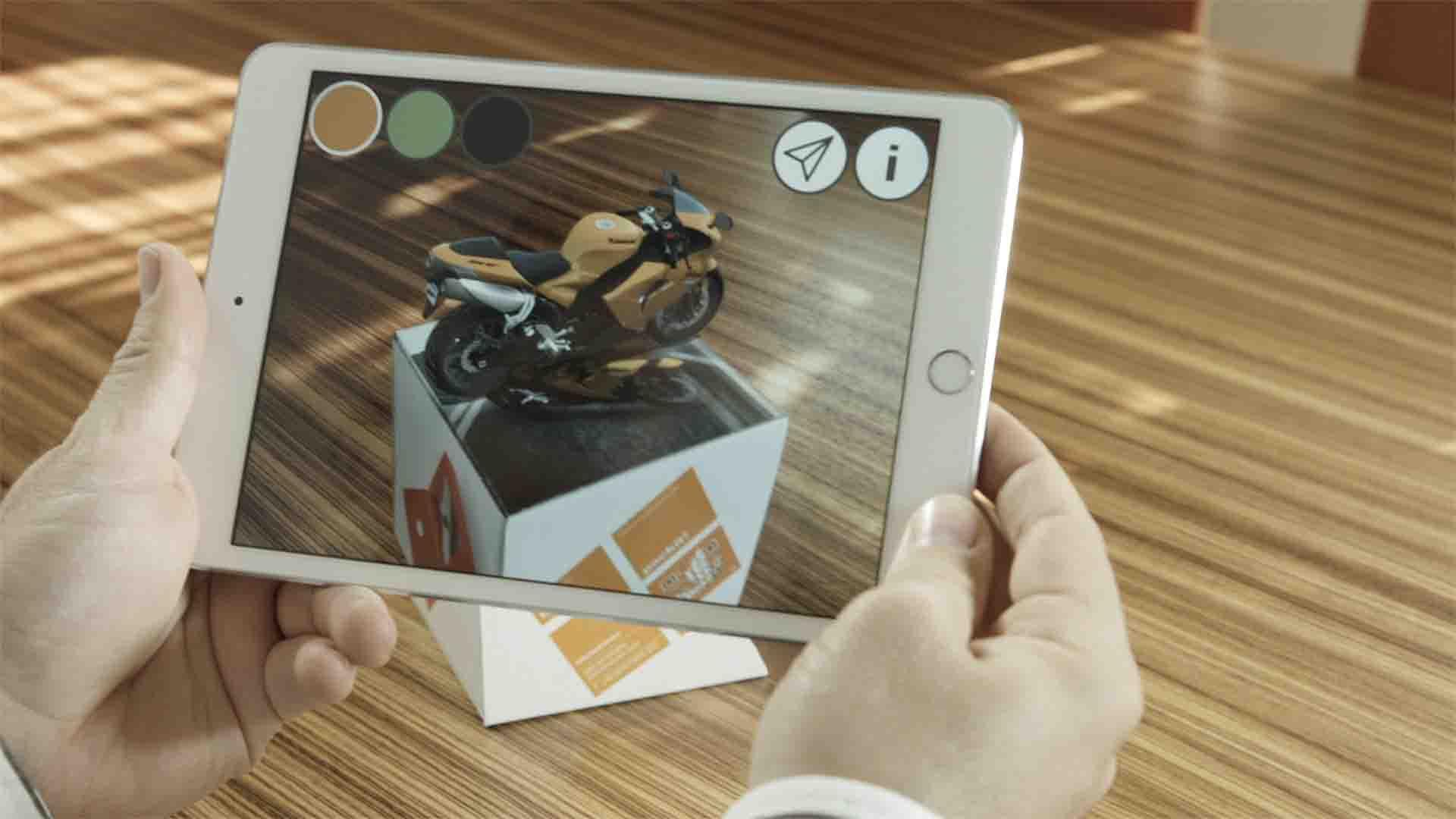 Dinkhauser Kartonagen setzt Augmented Reality für interaktive Verpackungen ein.