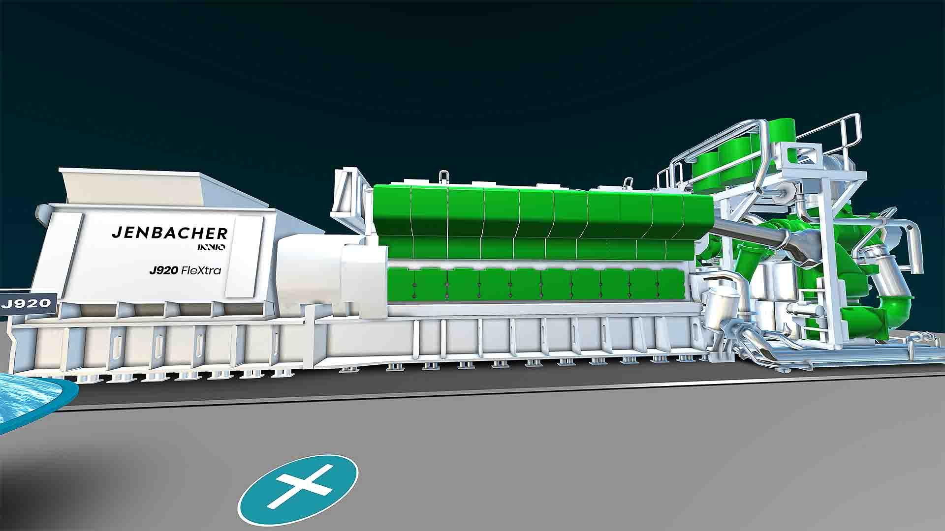 INNIO VR-Landscape Motor J920