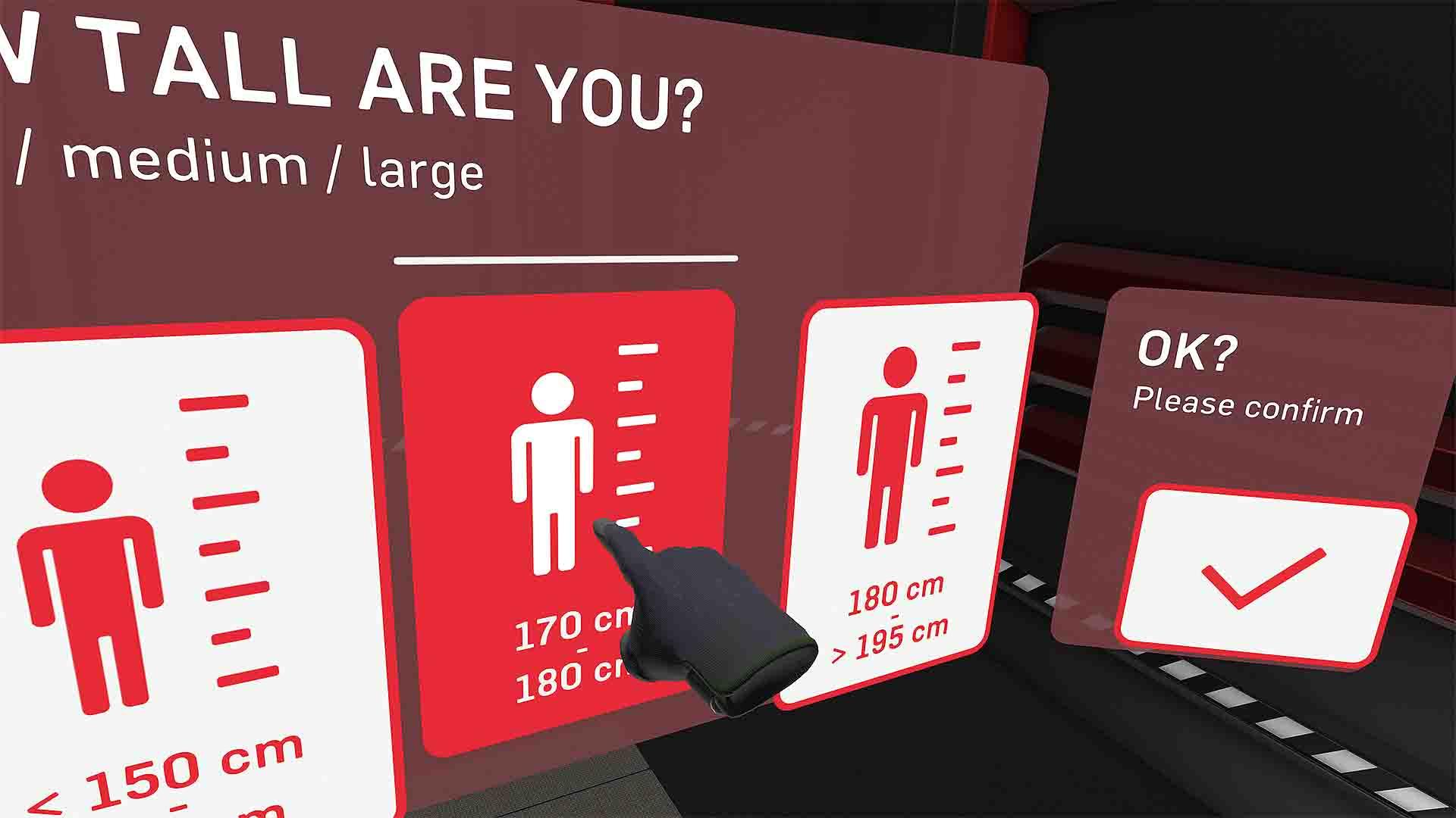 ROTAX VR-Assessment Größenauswahl