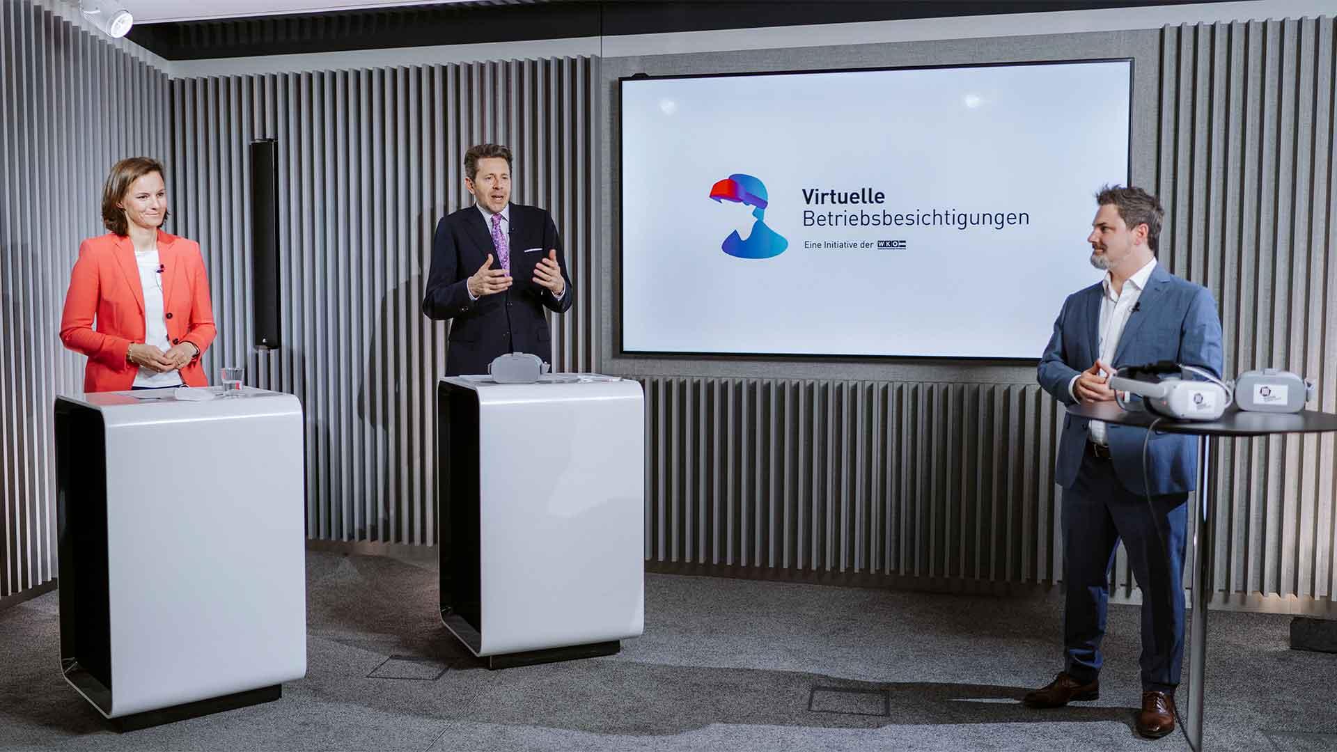 Mit der virtuellen Betriebsbesichtigung der Wirtschaftskammer Österreich können Jugendliche hautnah verschiedene Berufe entdecken.